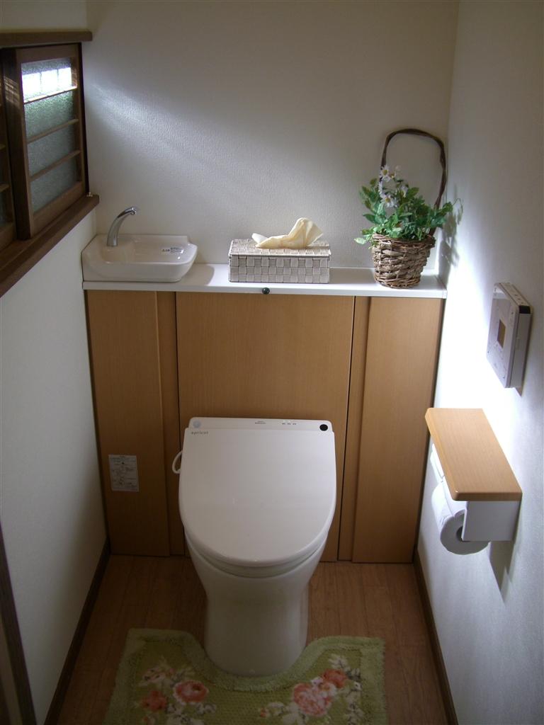 築60年平屋住宅の和式を洋式トイレに改装工事