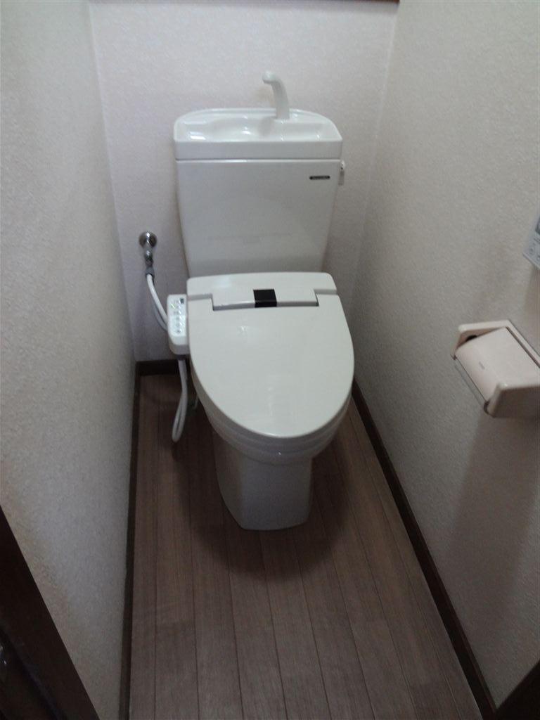 築84年住宅隣りの離れもトイレ取替え工事