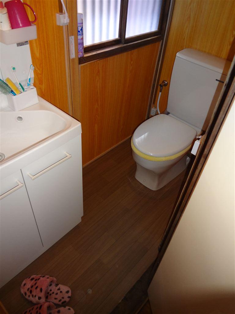 築84年住宅全面改装工事 トイレ・洗面