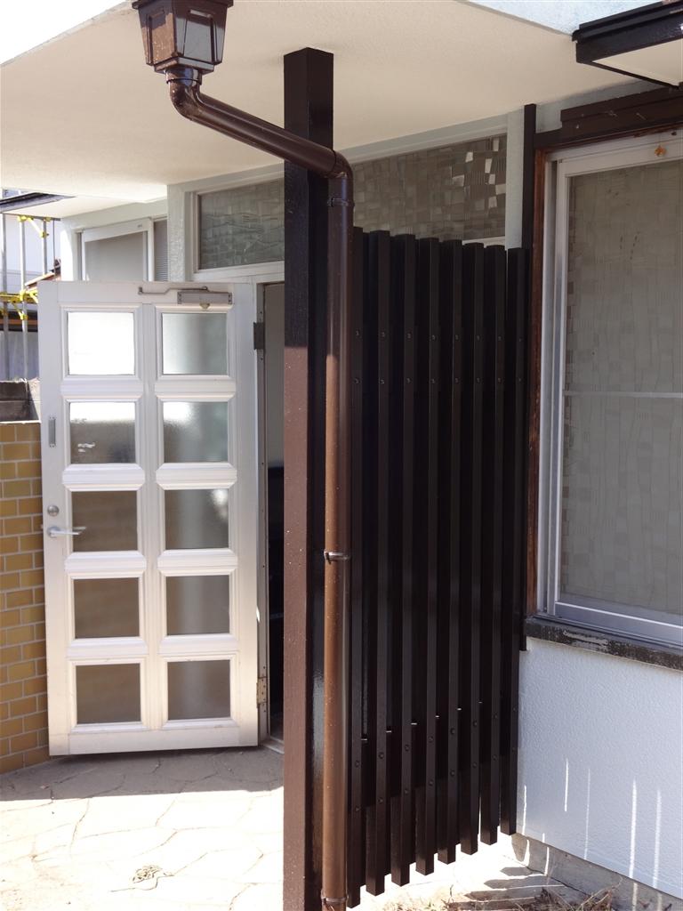 伊豆の国市:中古住宅全面改装工事 6 雨樋取替え工事