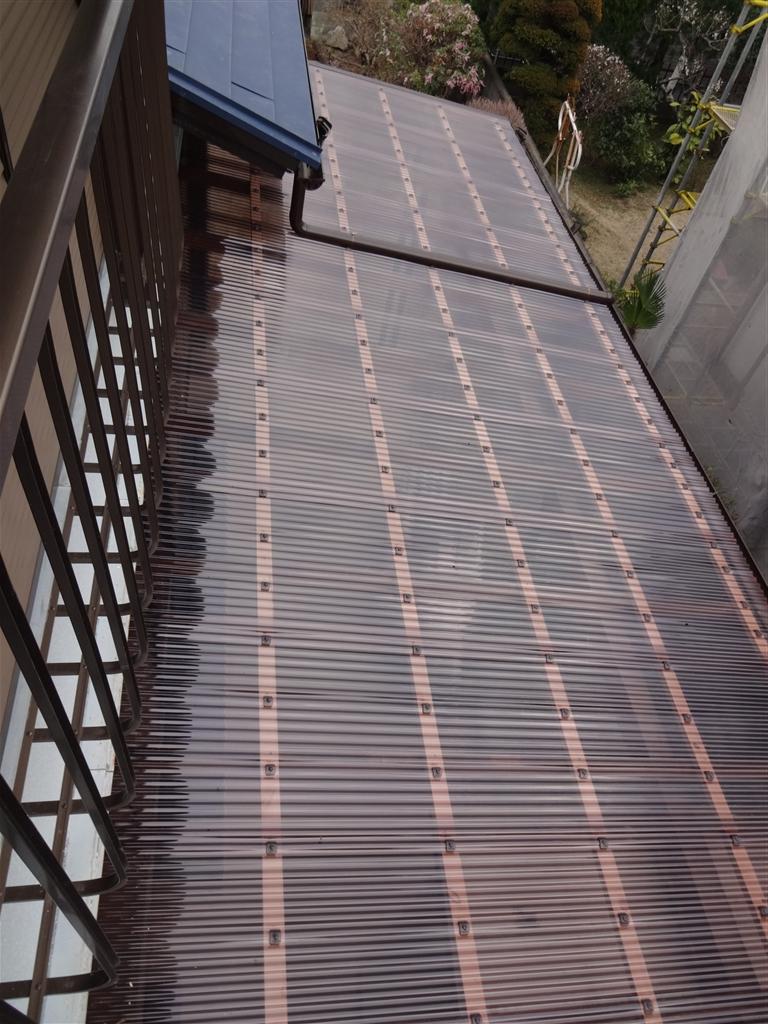伊豆の国市:中古住宅全面改装工事4 テラス屋根