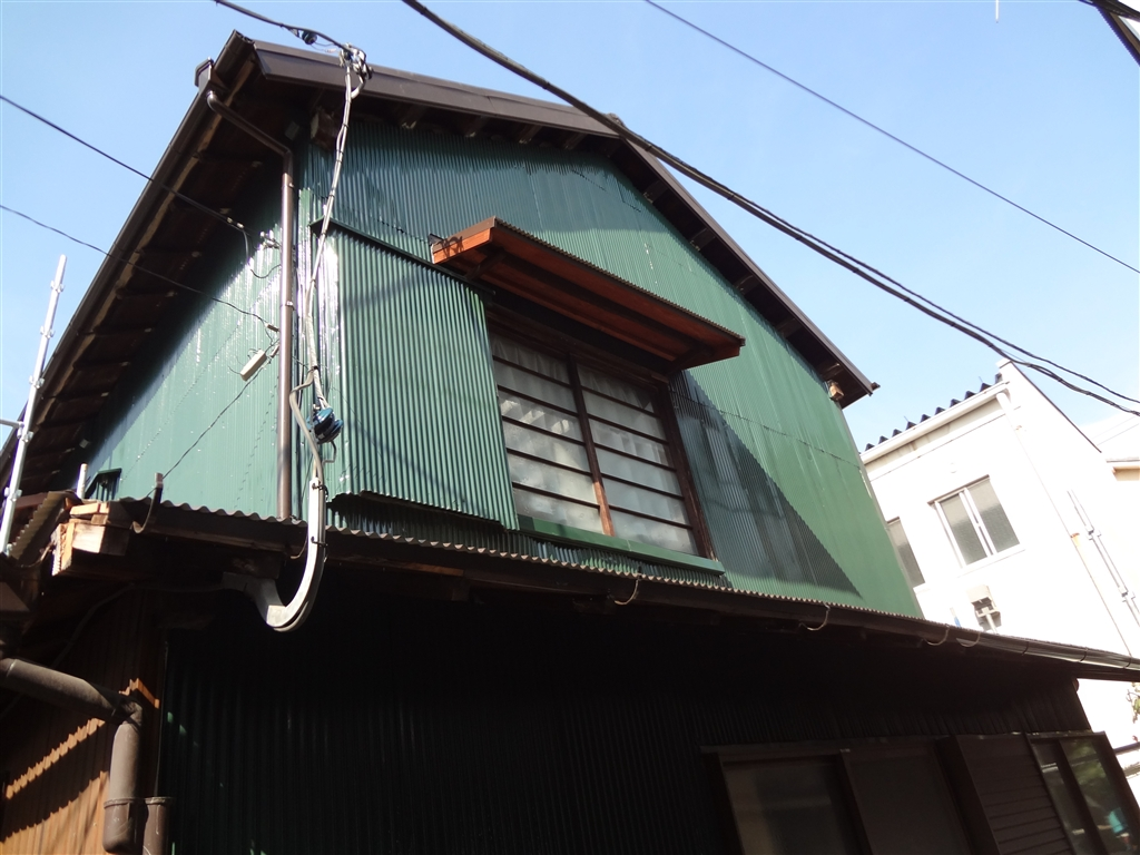 築84年住宅全面改装工事 外壁