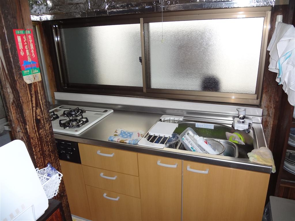 築84年住宅全面改装工事 キッチン
