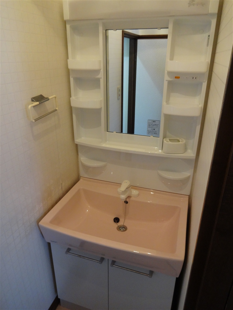 洗面化粧台と1・2Fトイレが気になって・・・ 洗面化粧台