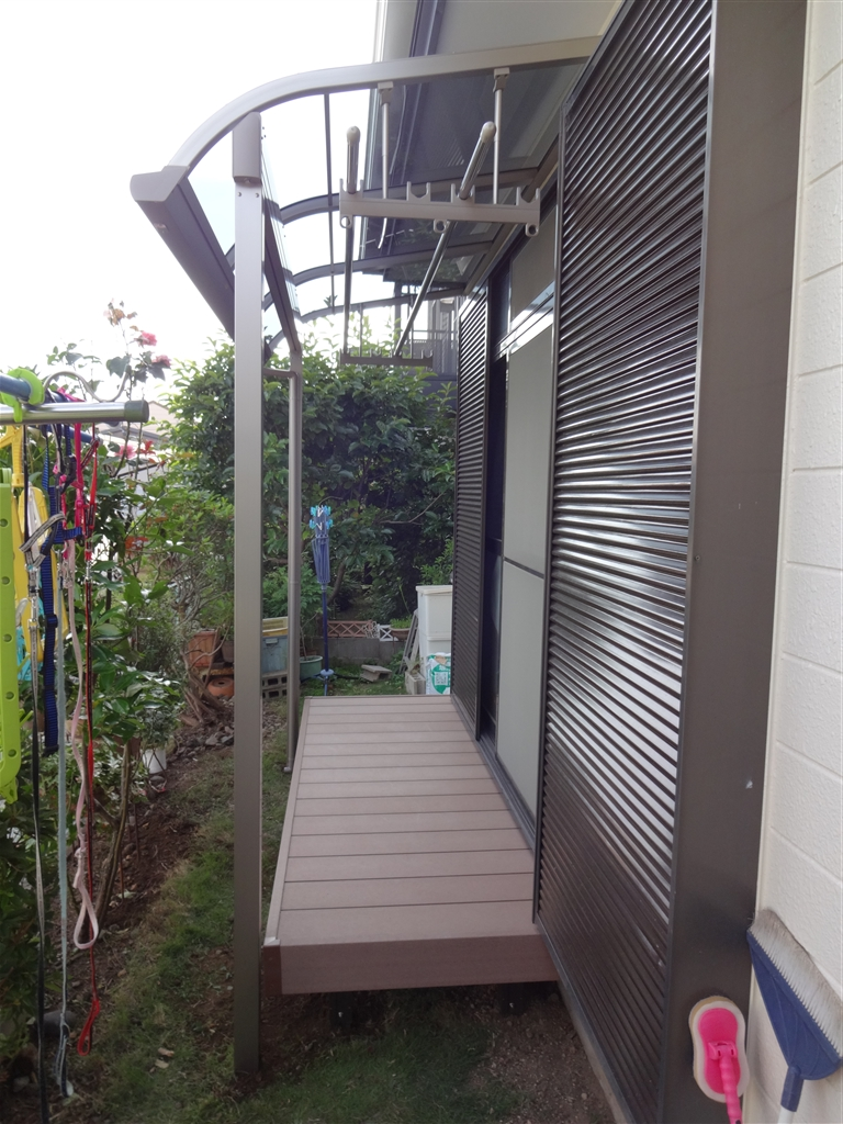 富士ビレッジ:住宅全面改装☆5 南側 テラス