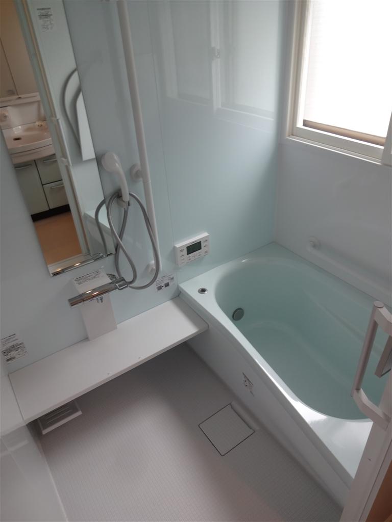 母のことを考えて浴室改装工事!