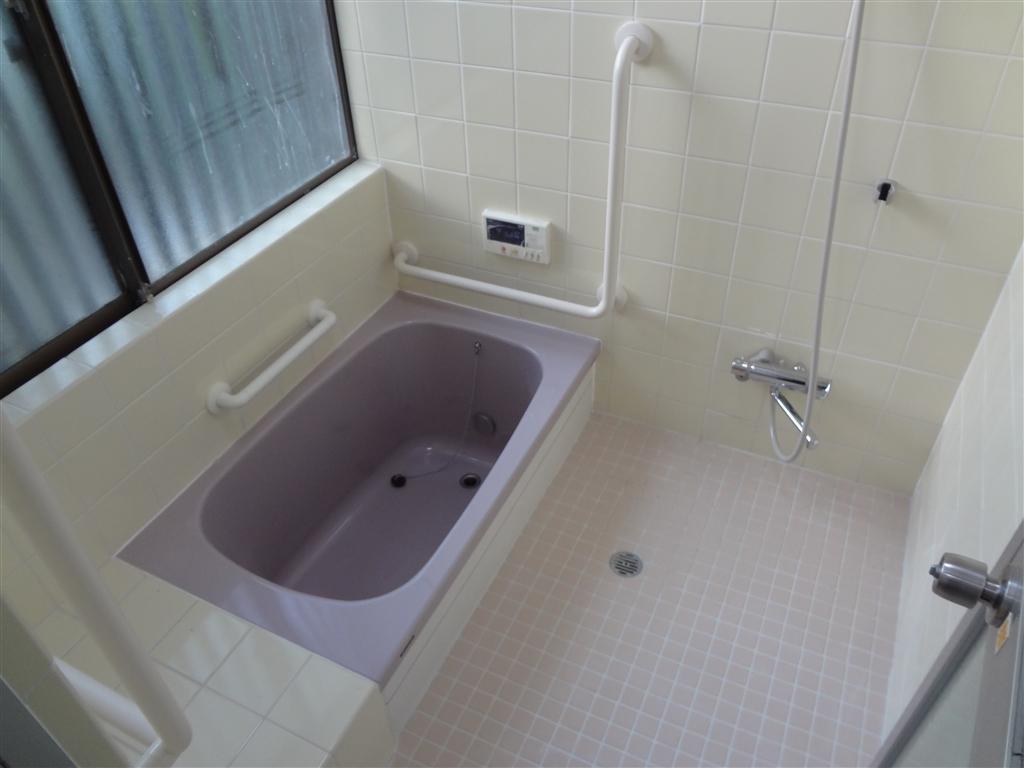 システムバス?タイル浴室介護リフォーム
