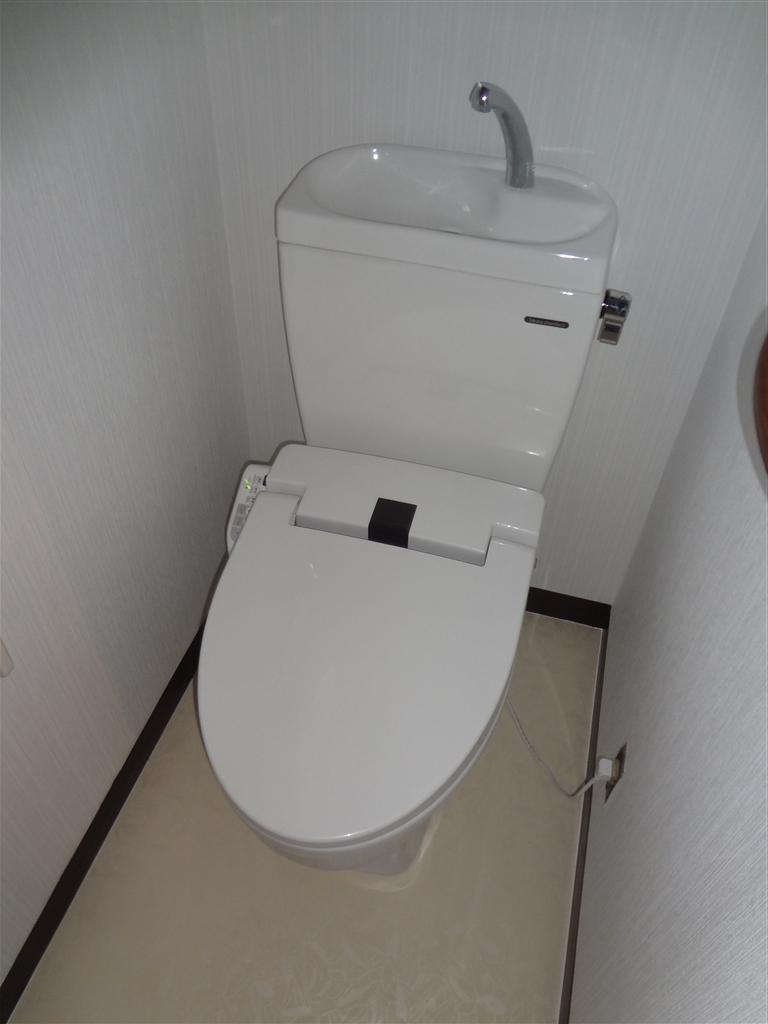 富士ビレッジ:住宅全面改装☆19 トイレ