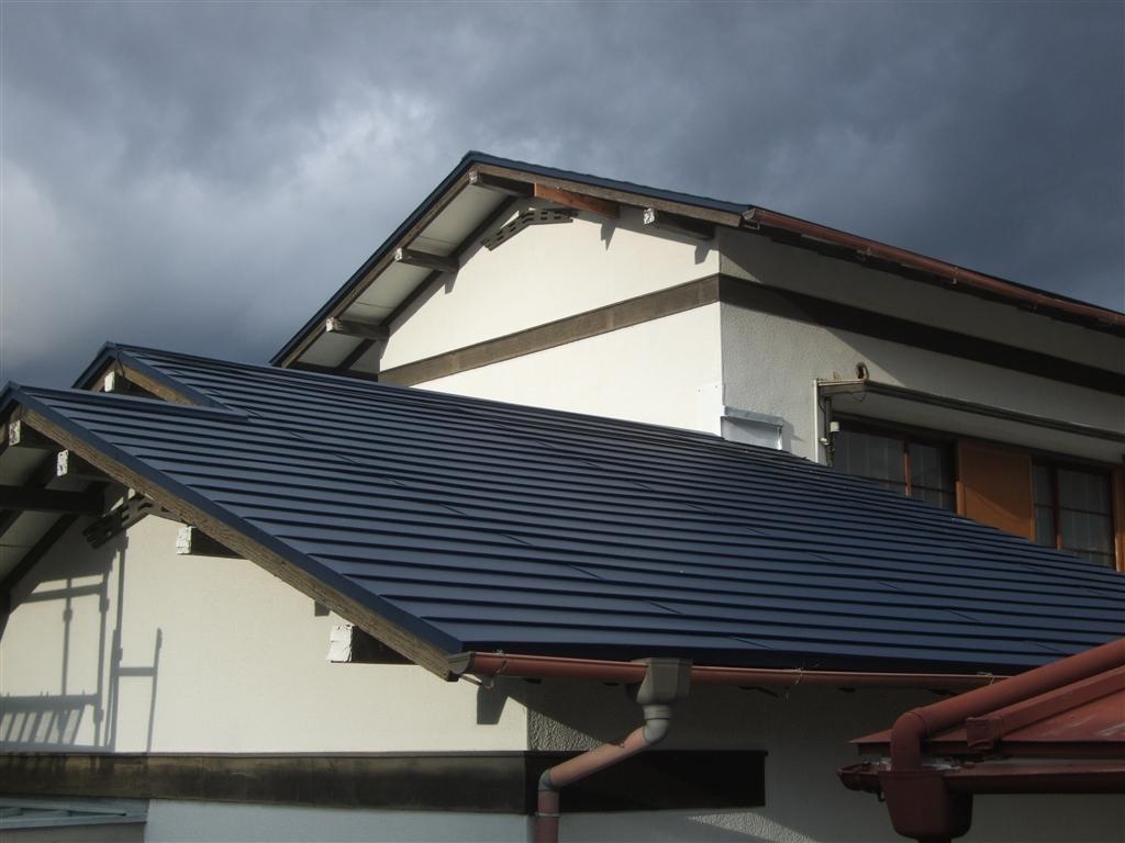 伊豆の国市:中古住宅全面改装工事1 屋根