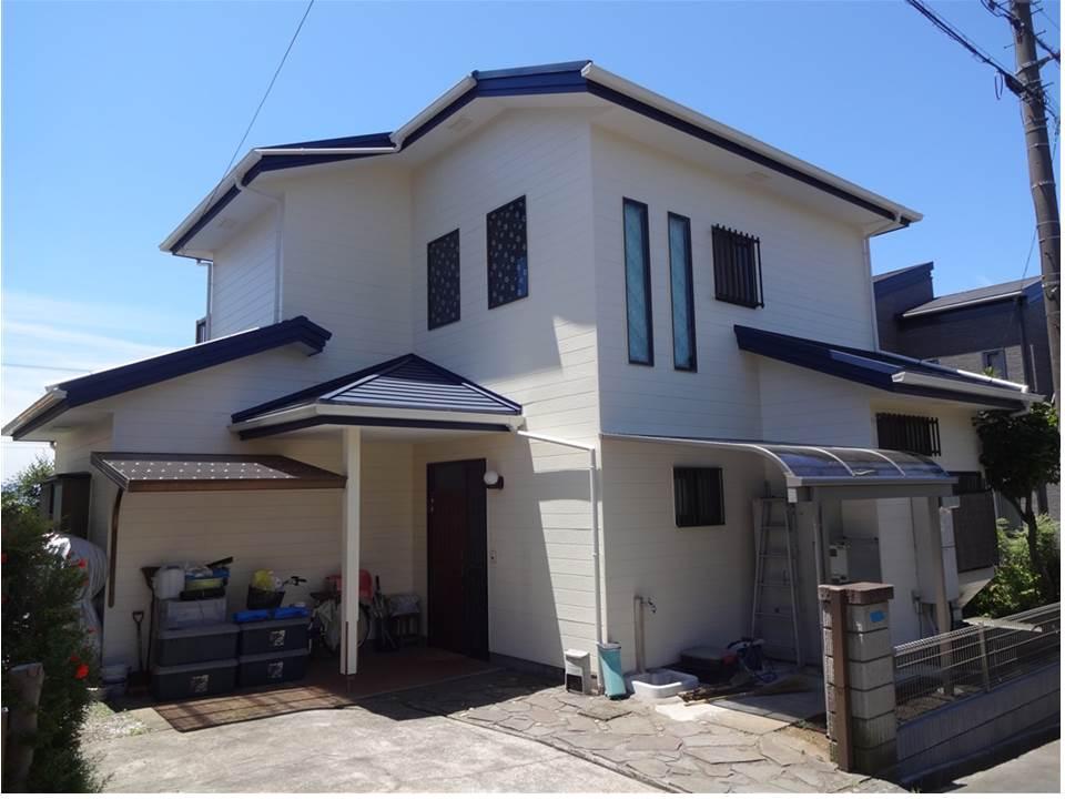 富士ビレッジ:住宅全面改装☆9 外壁塗装工事