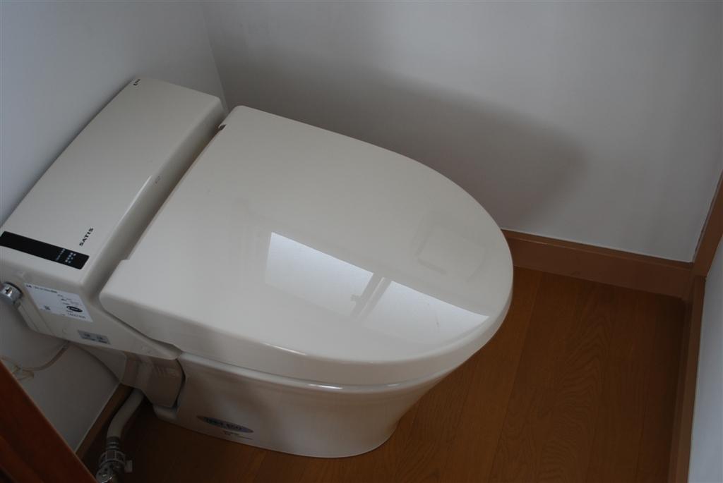 2Fトイレは狭いけど・・・