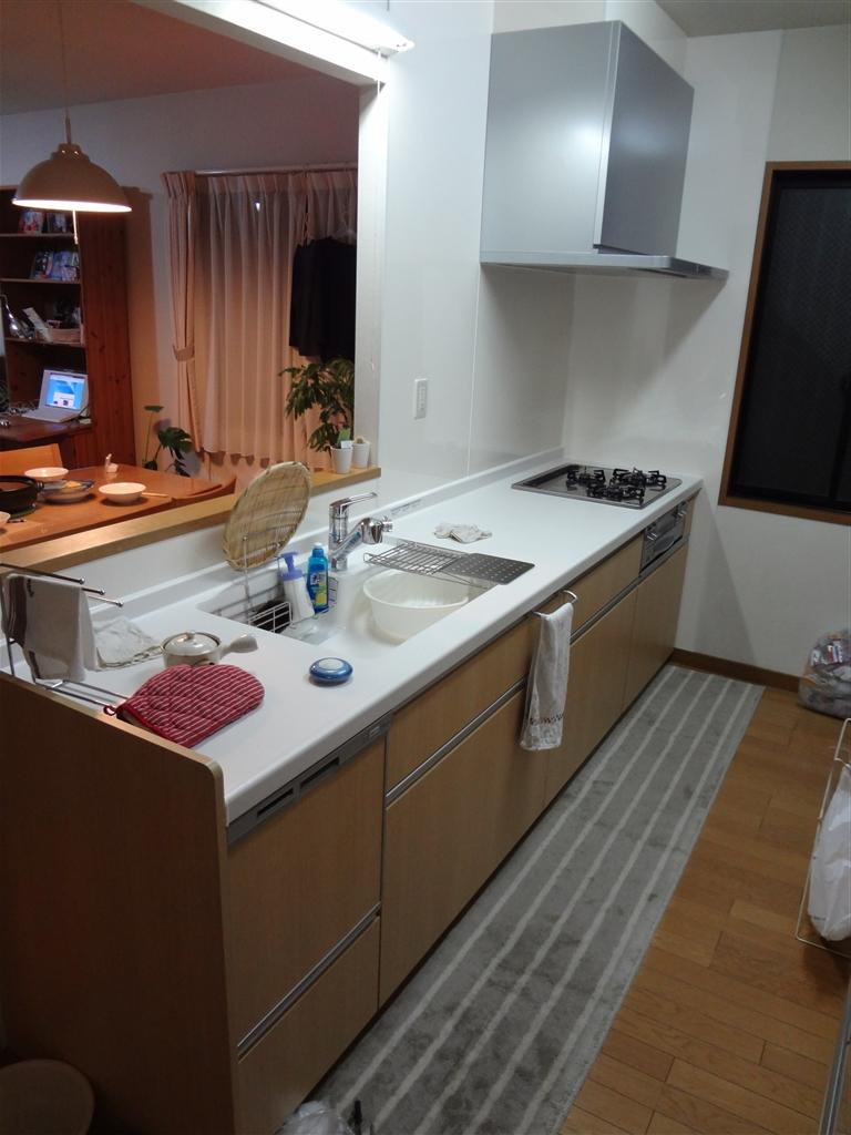 長泉町の補助金を活用してキッチン改装☆