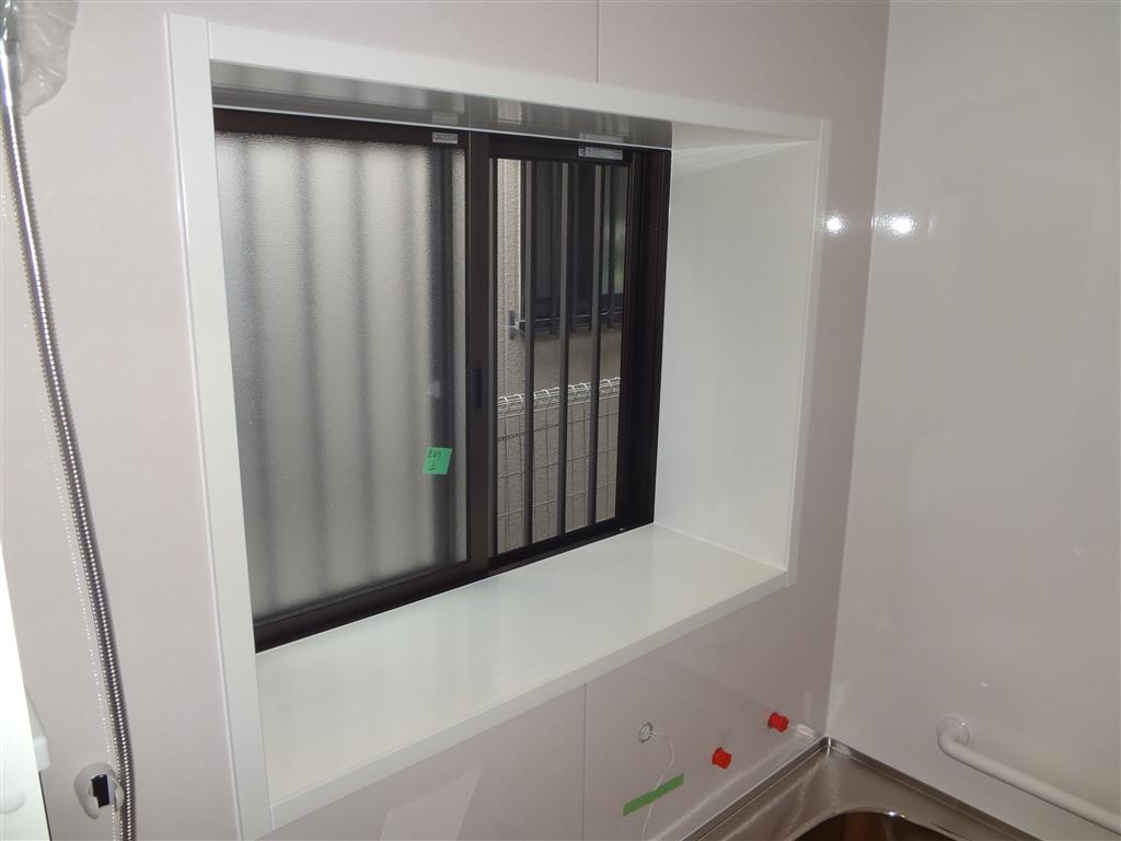 3年悩んだ末の浴室改装工事!窓