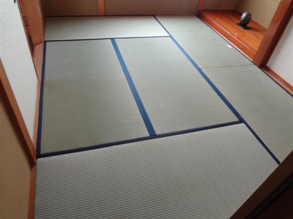 1F和室の畳もきれいにしたい!