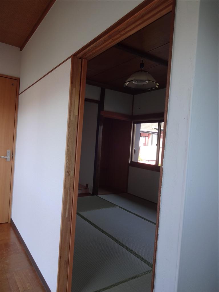 伊豆の国市:中古住宅全面改装工事 16 2F ⇒ 和室改装