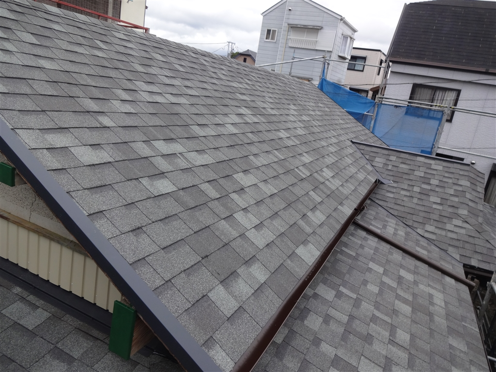 築60年平屋住宅の屋根葺替え
