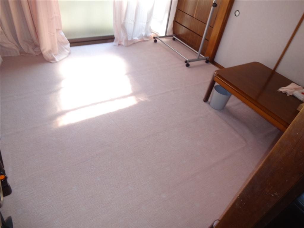 伊豆の国市:中古住宅全面改装工事 13 和室 ⇒ 介護部屋に改装