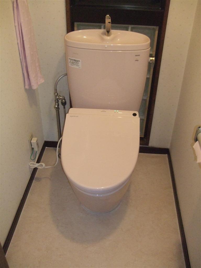 マンションのトイレ取替え