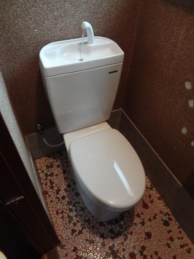 またここに住むことになったのでトイレを・・・