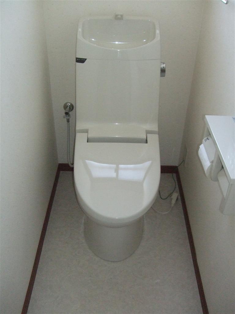 いつまでもこのままのトイレでは・・・?