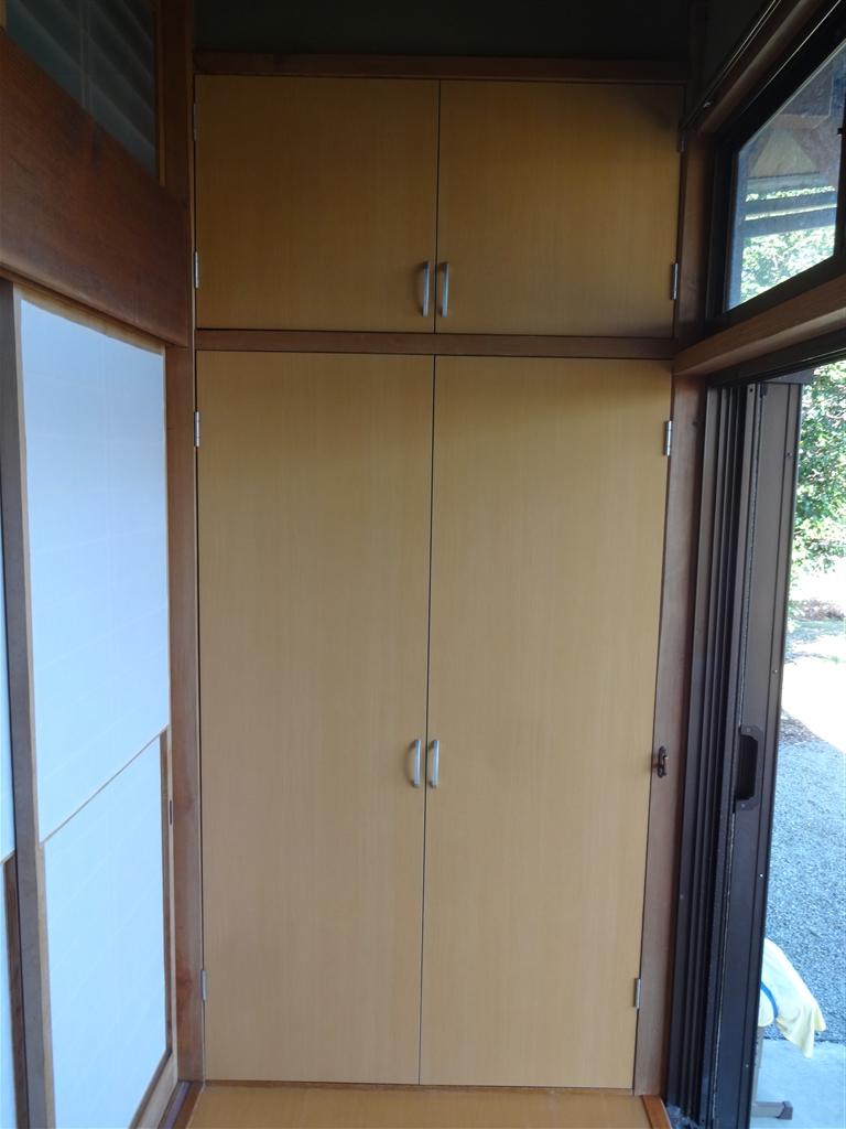 築32年住宅:将来、暮らしやすいように!1F物入れ扉取替え
