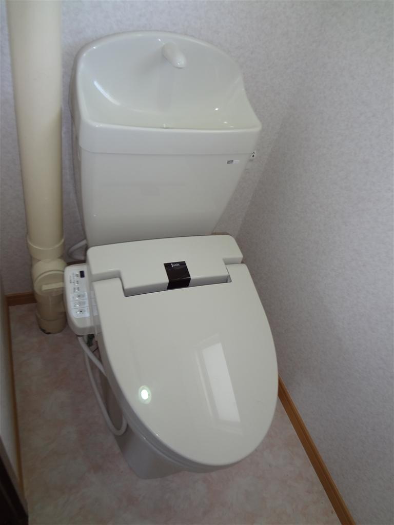 アパートの部屋、思いっきり改装! トイレ