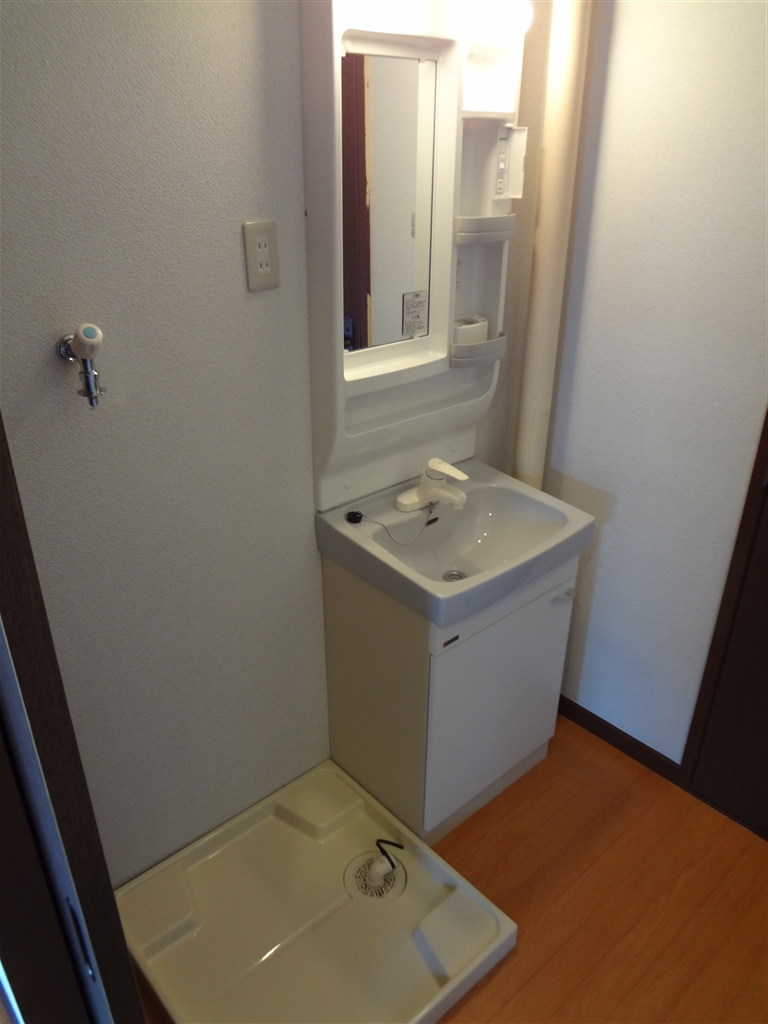 アパートの部屋、思いっきり改装! 脱衣場