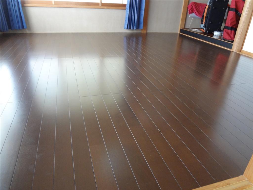 2Fの和室の床をフローリングにお願いします。