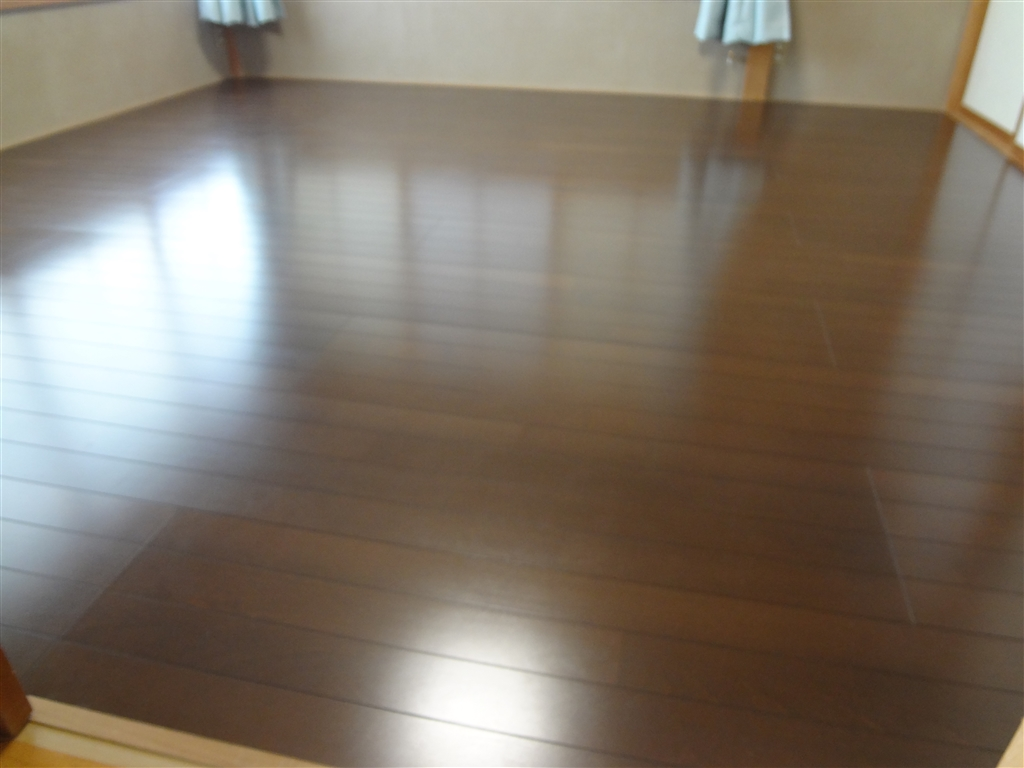 1Fの和室の床をフローリングにお願いします。