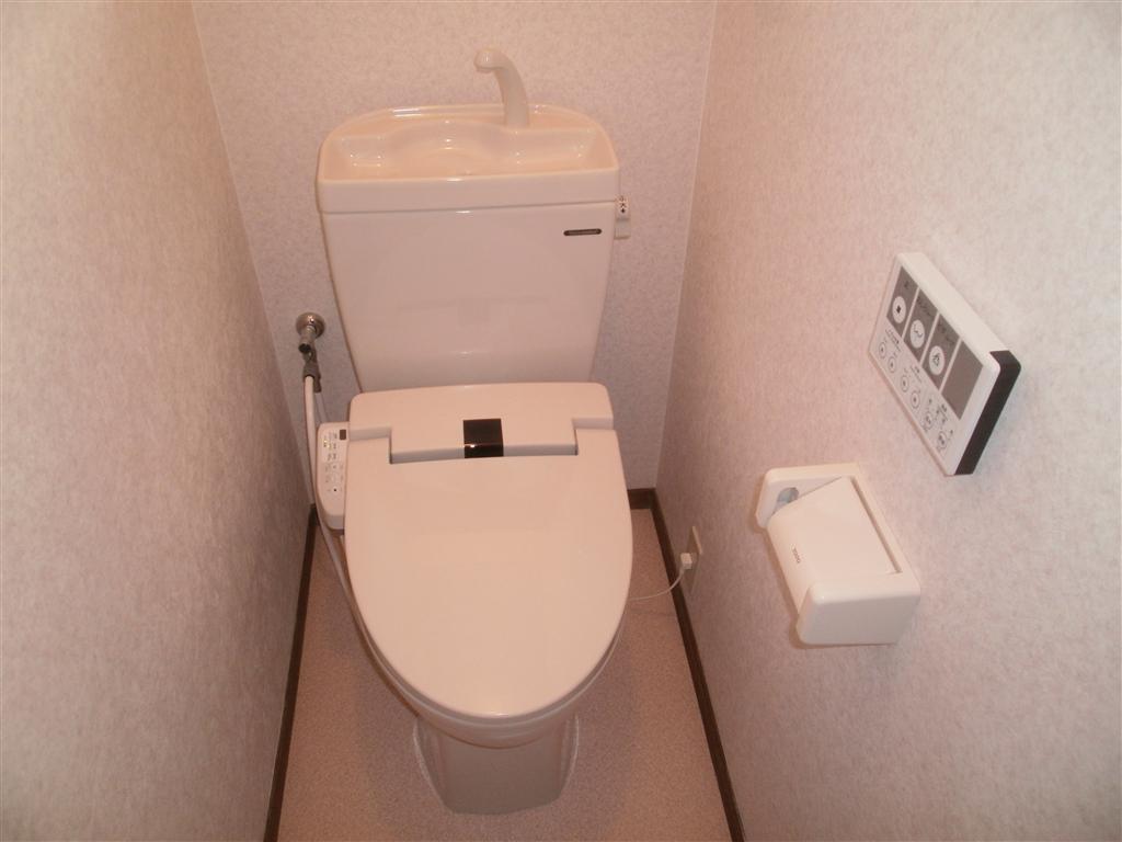 Sビル各部屋全面改装工事 A室 トイレ