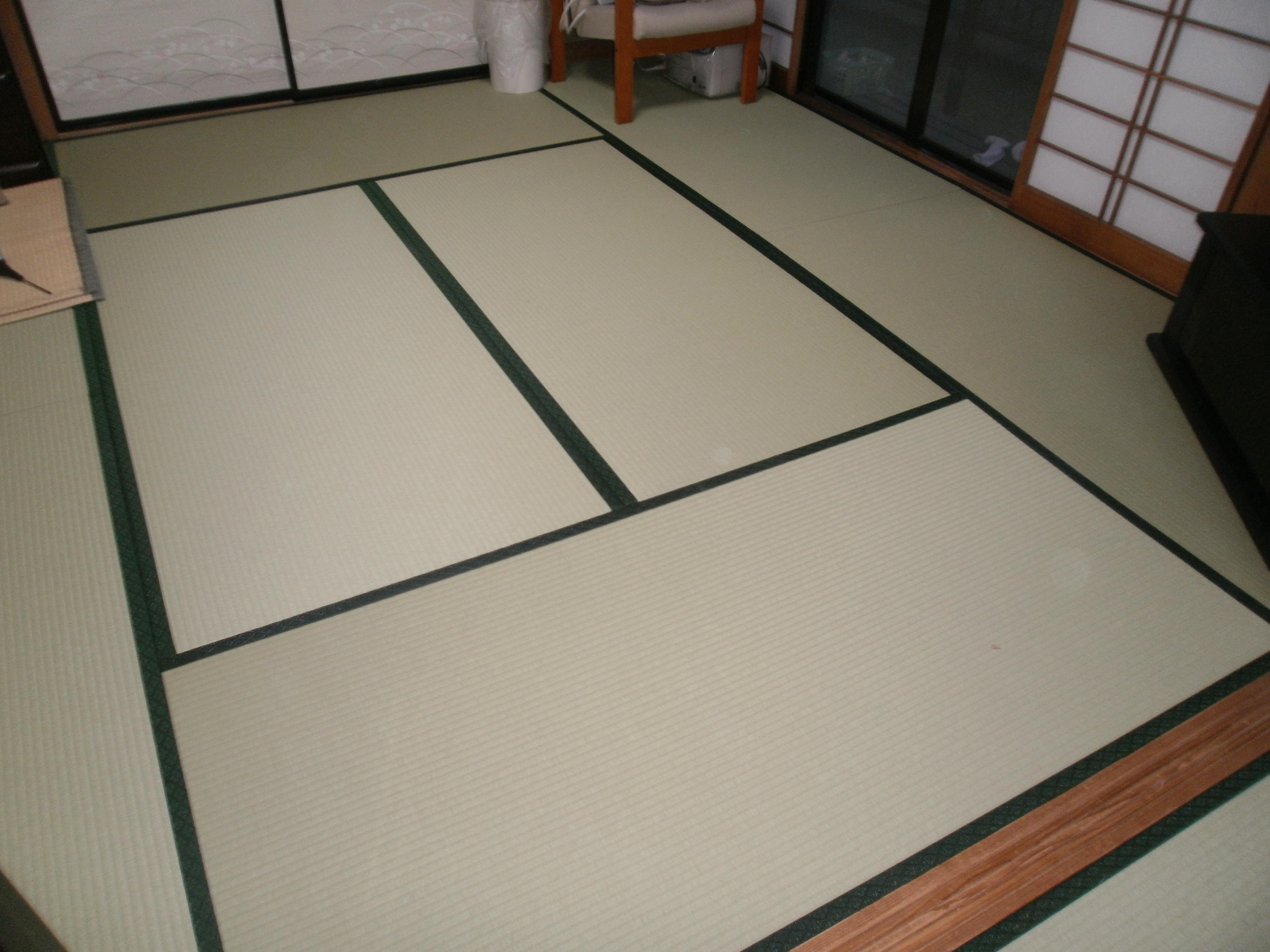 和紙の畳?最高です!