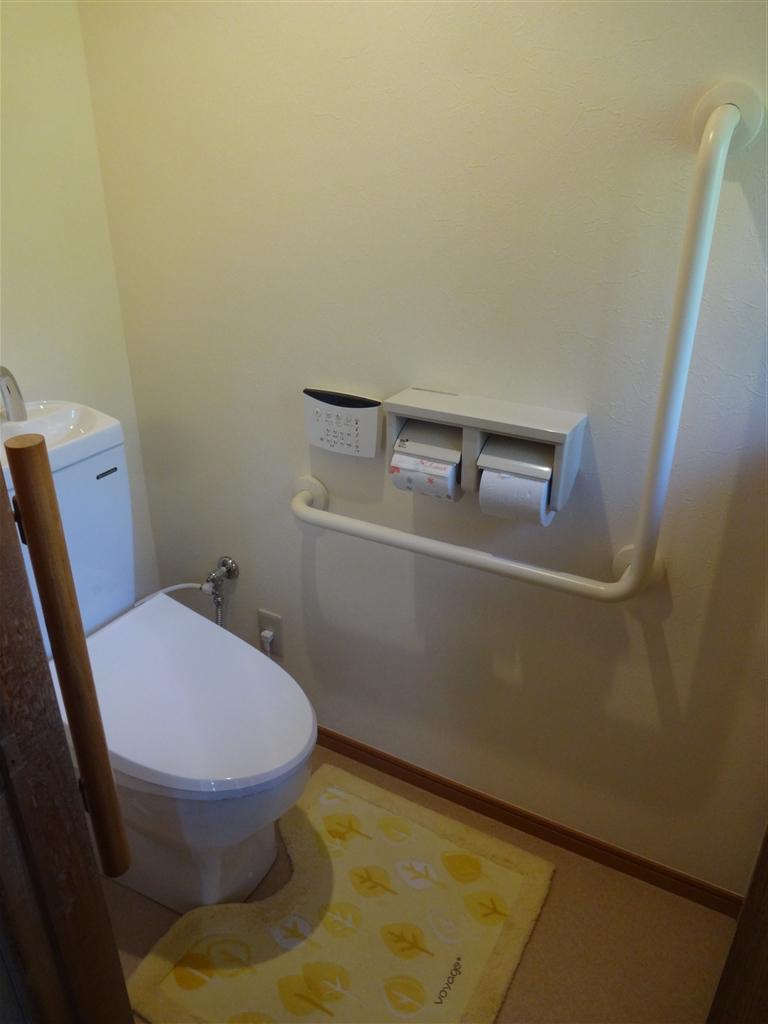 トイレを取替える時に、床をタイルじゃなくて・・・