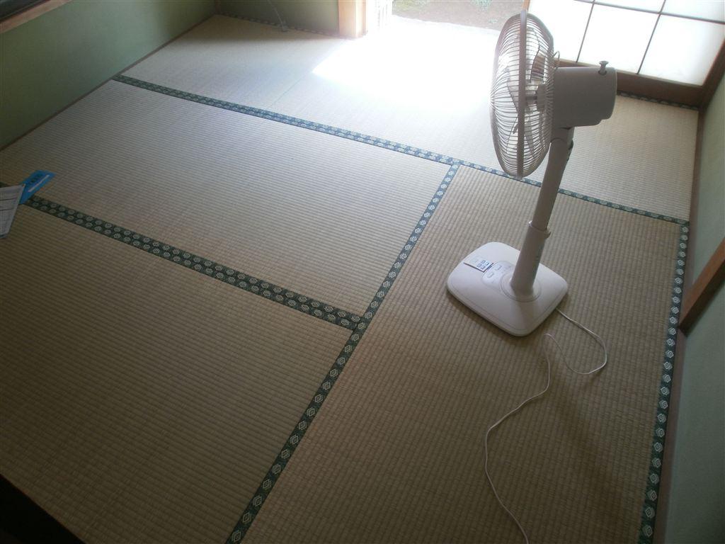 4.5畳和室 畳の入替え