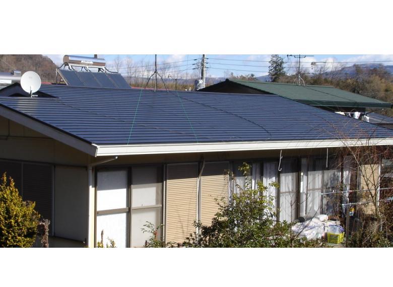 屋根の雨漏り補修⇒カバールーフ工法