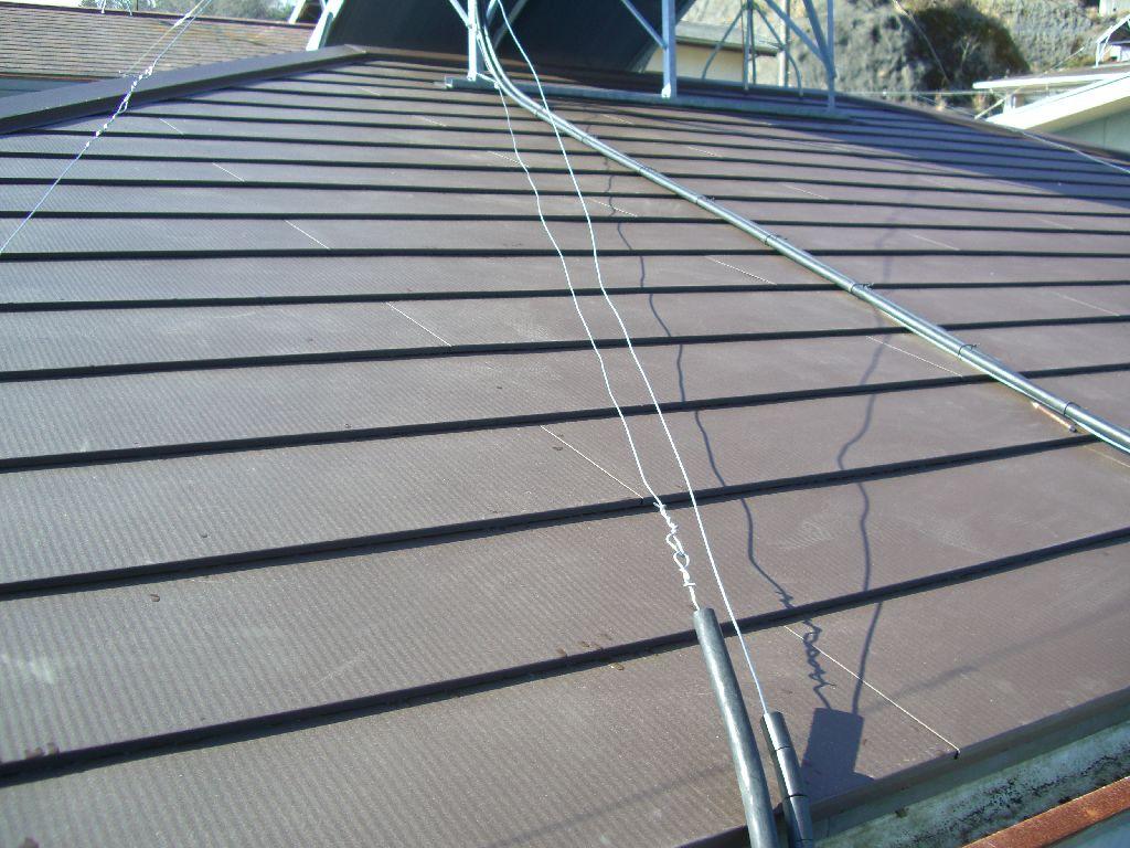 屋根を葺替えて外壁を塗装してください!
