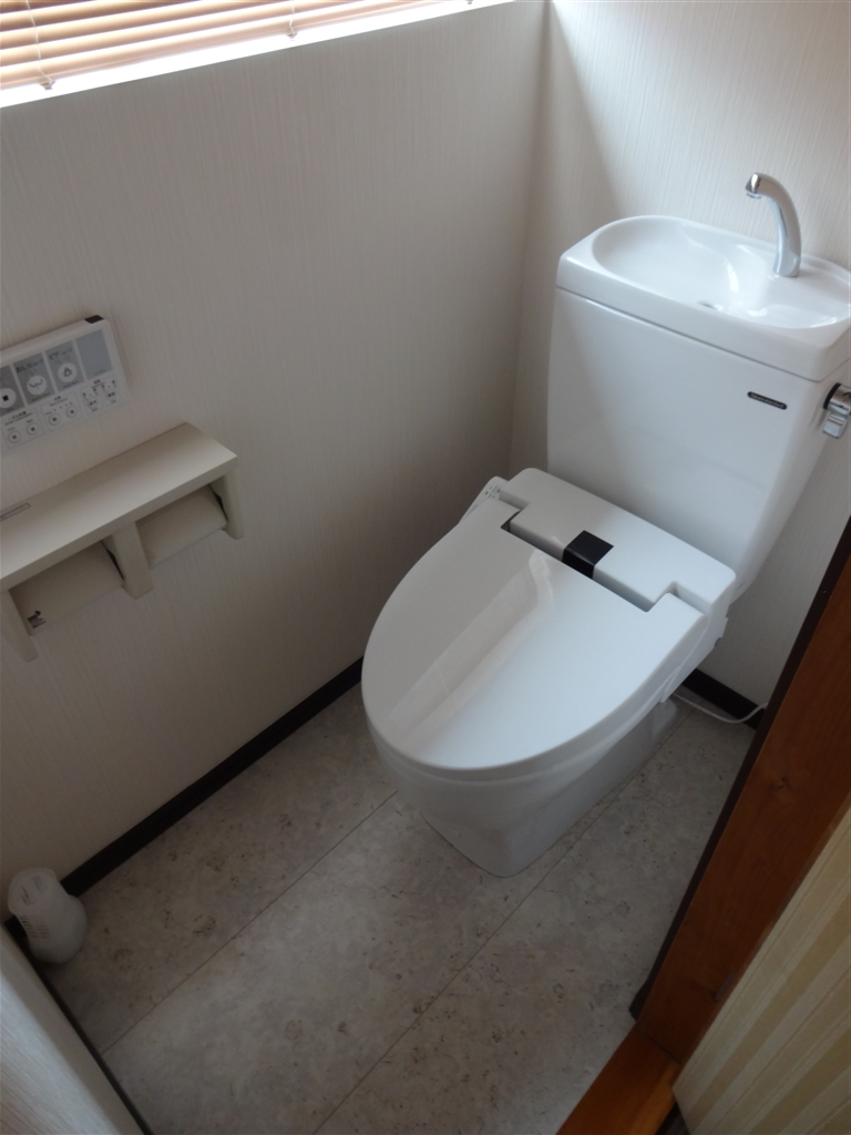 築32年住宅:将来暮らしやすいように! 2Fトイレ改装