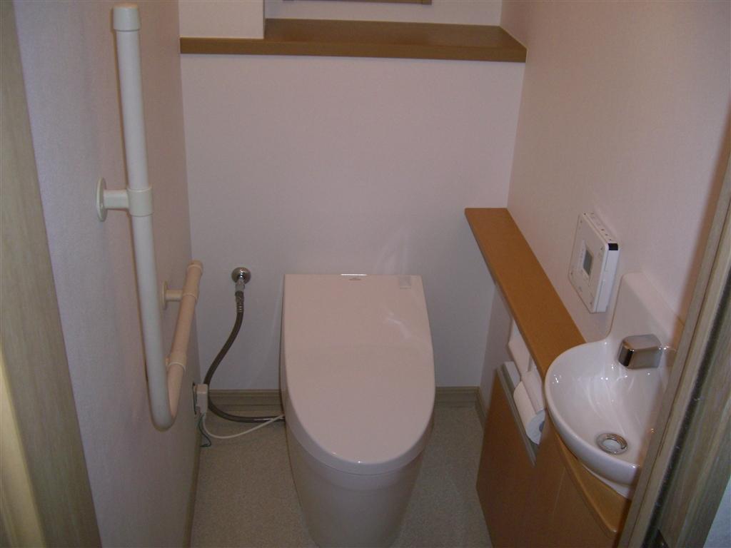 トイレ改装(手洗い洗面台付)