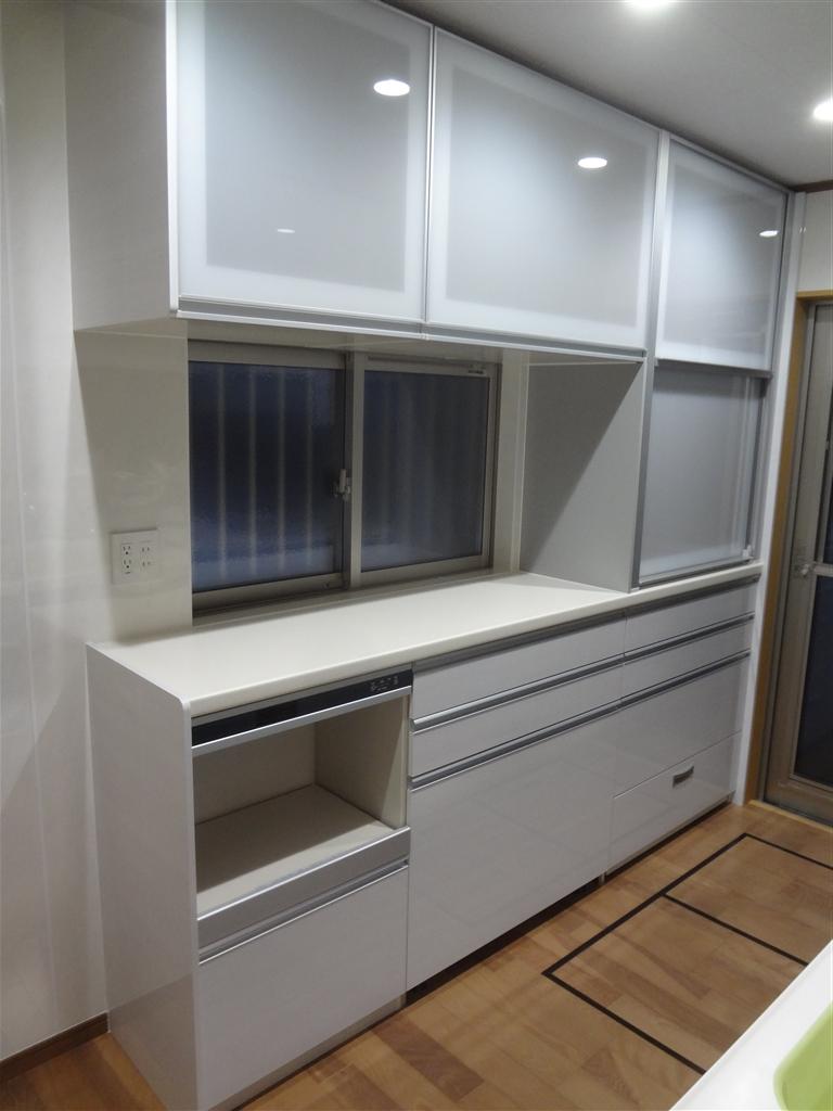 こうなったら建替え?キッチン クリンレディ 背面収納 W2400・床下収納