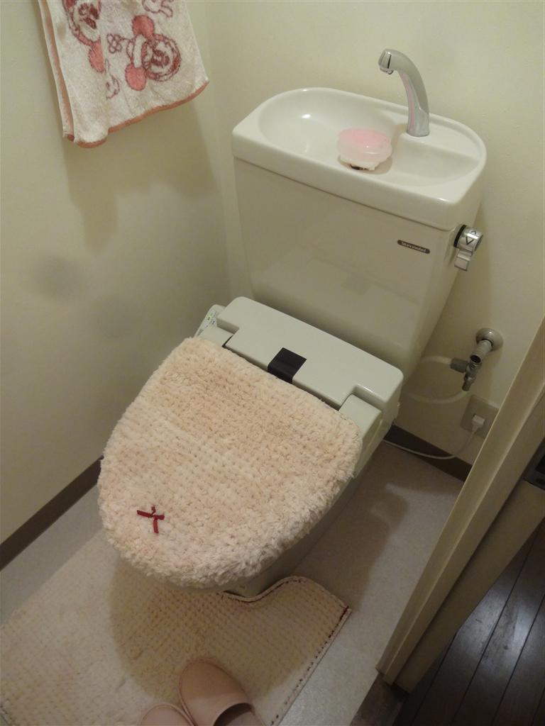 中古マンション購入 予算なりにリフォーム トイレ