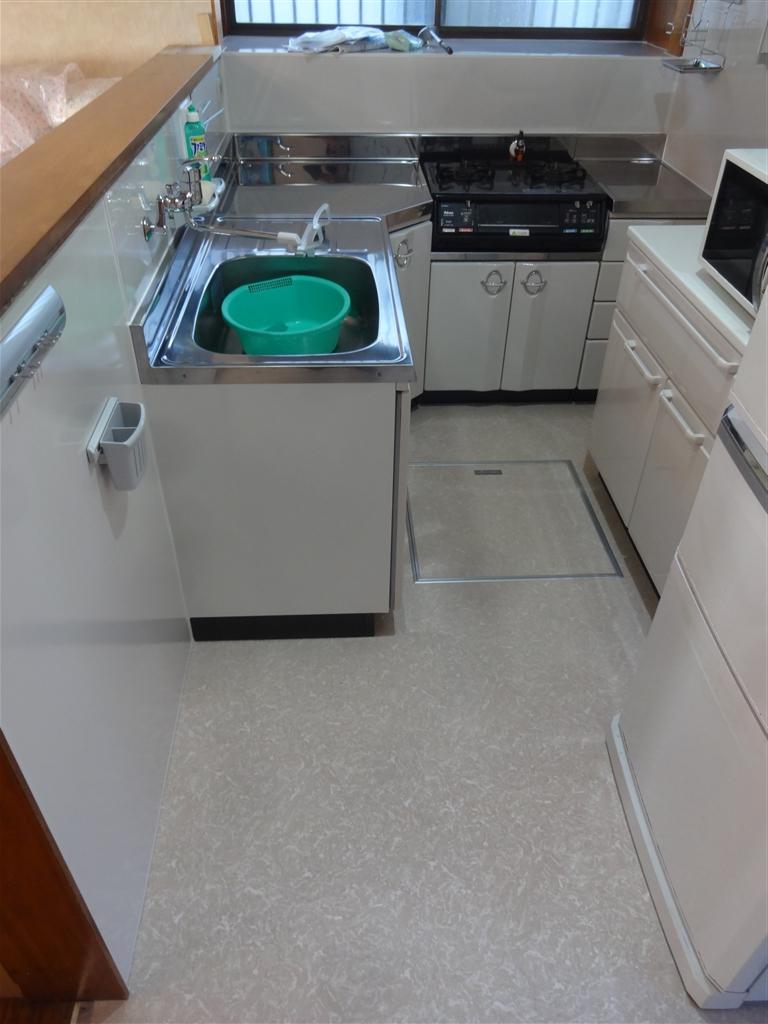 L型キッチンは小さくきれいに!