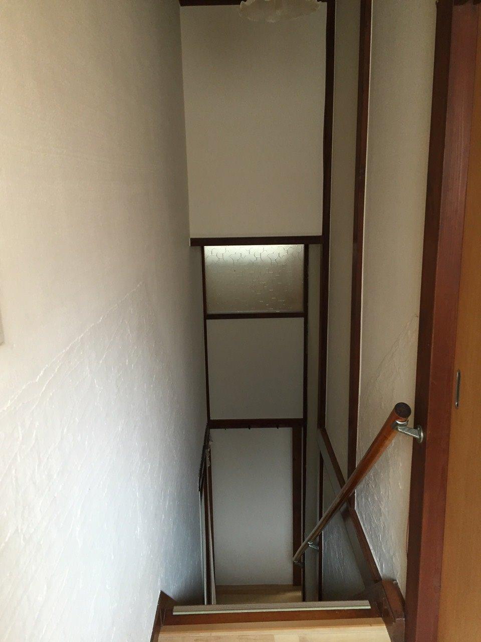築58年住宅 いろいろと考えて!階段