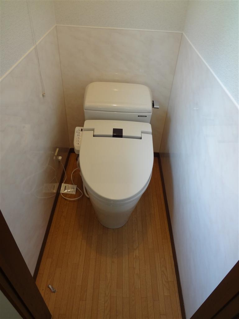 水廻り全面改装!お尻を洗うトイレを♪2F