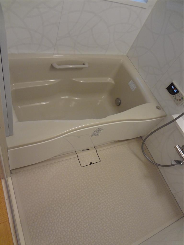 水廻り全面改装!少し広くした浴室♪