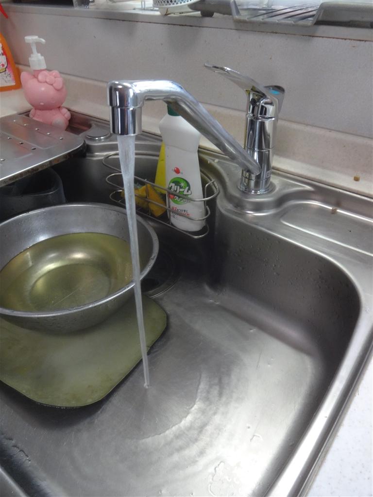 15年前に取替えたキッチン 水栓だけを!