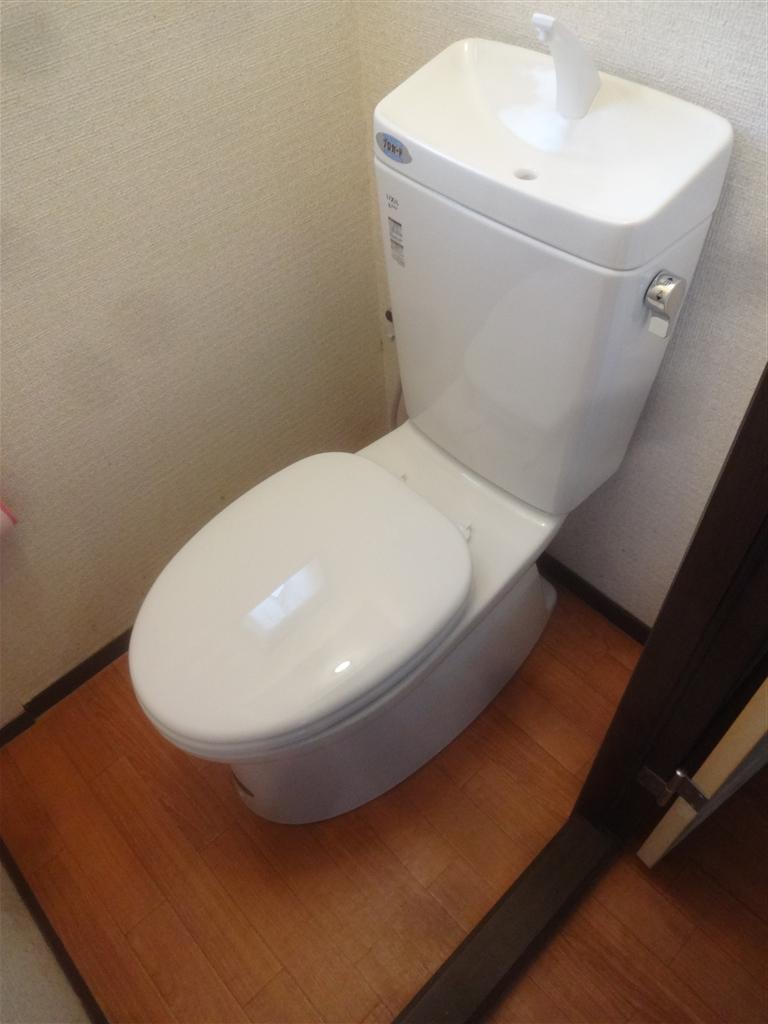 アパート トイレ取替え
