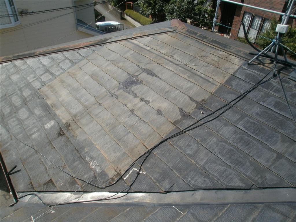 建直せない!・・・2年経ち 屋根 太陽熱温水器撤去