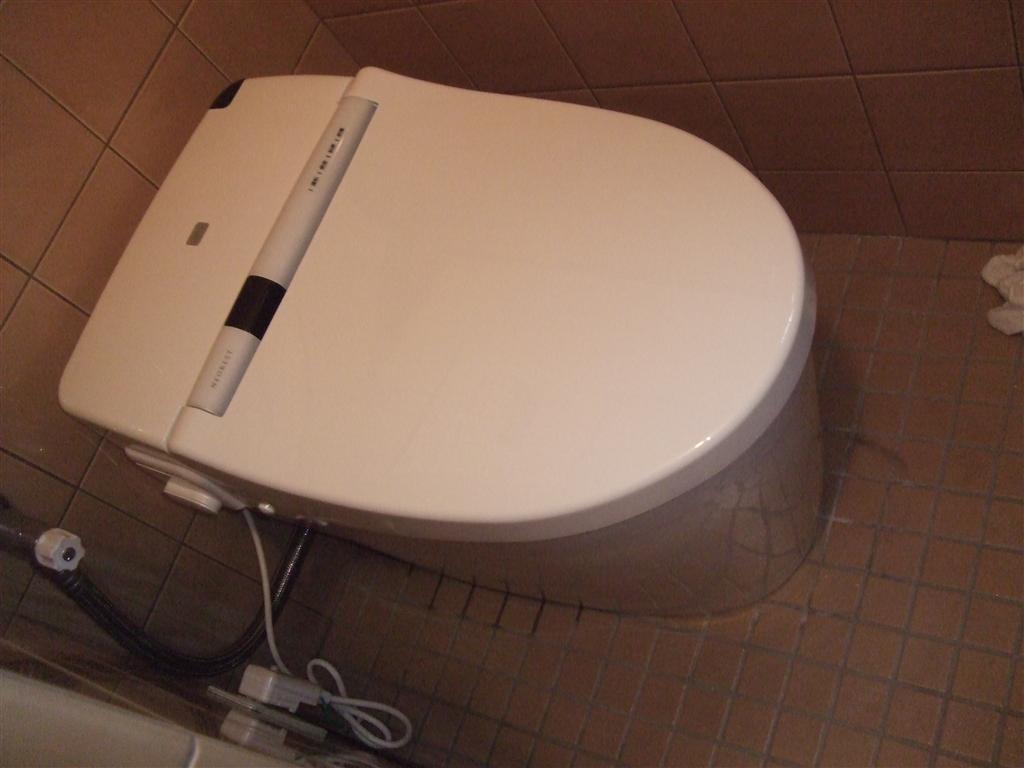 1・2Fのトイレを一緒に取替え 1F