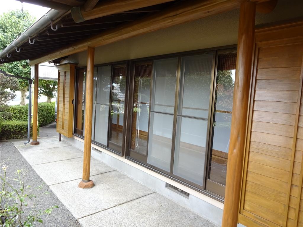 外壁塗装を定期的に実施 木部