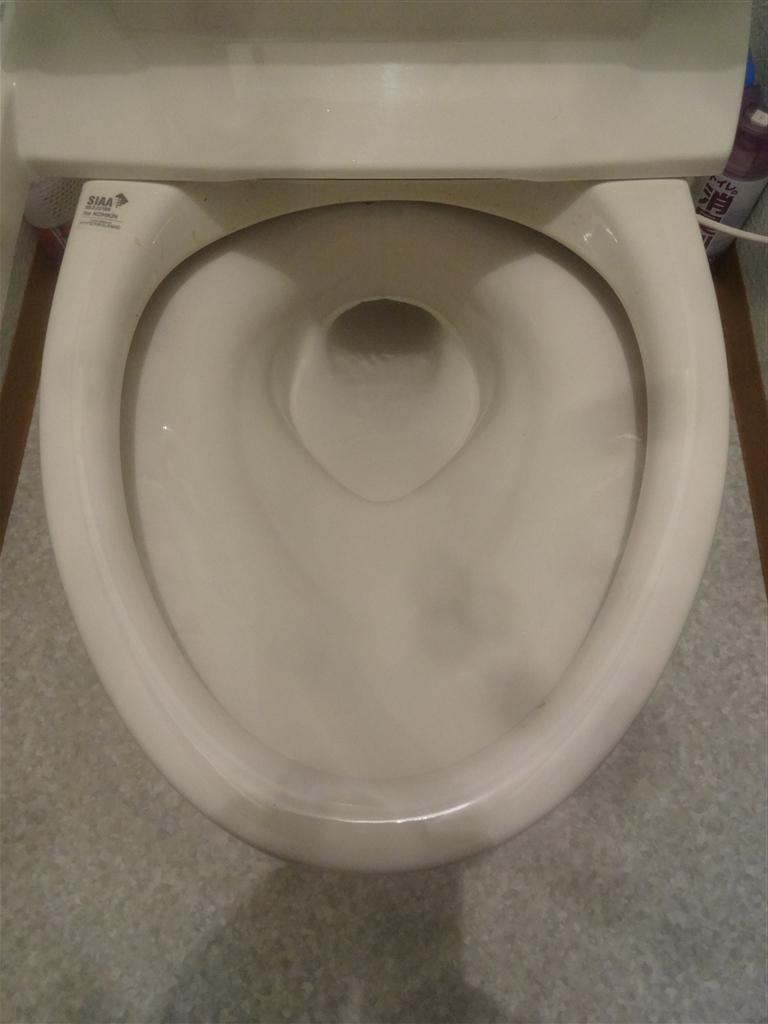 2Fのトイレが全然流れなくて!!