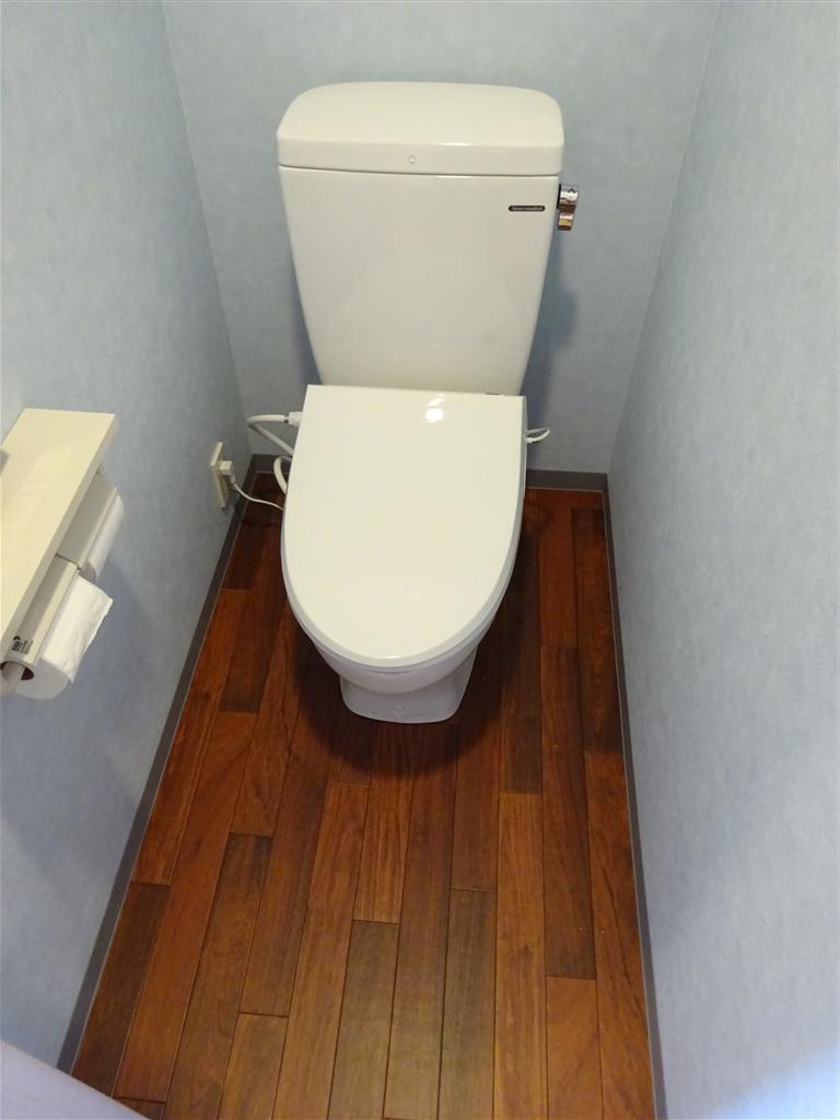 マンションに引越♪トイレだけは・・・